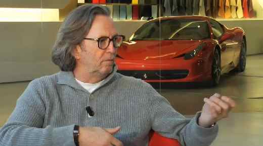 Eric Clapton Ferrari Interview 2010