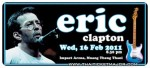 Eric Clapton World Tour 2011: Impact Arena, Bangkok 16 February 2011