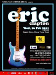 Eric Clapton – One Night In Bangkok – Impact Arena, Bangkok (Muang Thontani)- Wednesday February 16 2011
