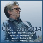 Eric Clapton – Oak Mountain Amphitheatre – Pelham, AL – May 2, 2014