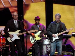 Andy Fairweather Low, Willie Weeks and Eric Clapton