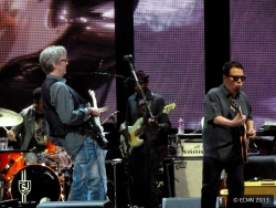 Eric Clapton and Cesar Rosas