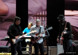 Robbie Robertson, Chris Stainton, Derek Trucks and Gary Clark Jr.