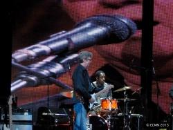 Steve Jordan and Eric Clapton