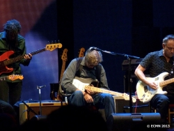 Eric Clapton and Jimmy Vaughan