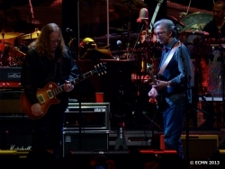 Warren Haynes and Eric Clapton
