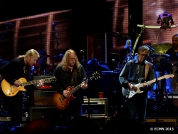 Derek Trucks, Warren Haynes and Eric Clapton