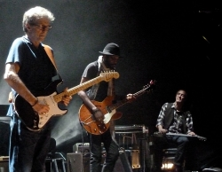 20 May 2013 Royal Albert Hall London - Gary Clark Jr., Greg Leisz and Eric Clapton