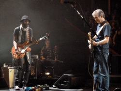 20 May 2013 Royal Albert Hall London - Gary Clark Jr. and Eric Clapton