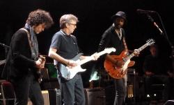 Doyle Bramhall, Eric Clapton & Gary Clark Jr. RAH 24 May 2013