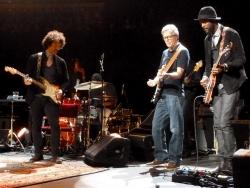 Doyle Bramhall, Eric Clapton & Gary Clark Jr. RAH 26 May 2013